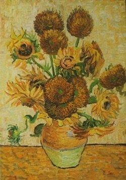 Original Oil on Canvas   E. Jae
