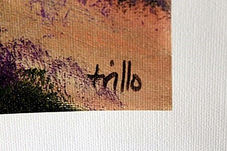 Giclee on Canvas after Trillo. - 2