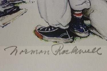 Lithograph - Norman Rockwell - 2