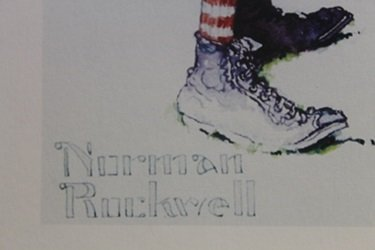Lithograph - Norman Rockwell - 3