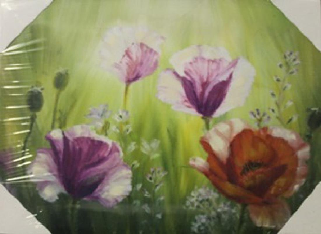 """Giclee on Canvas """"Floral III"""""""