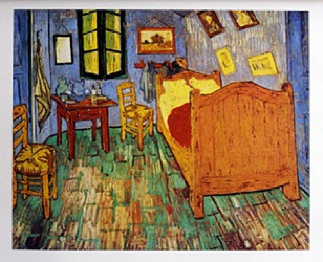 Lithograph Van Gogh Bedroom at Aries - Vincent Van Gogh