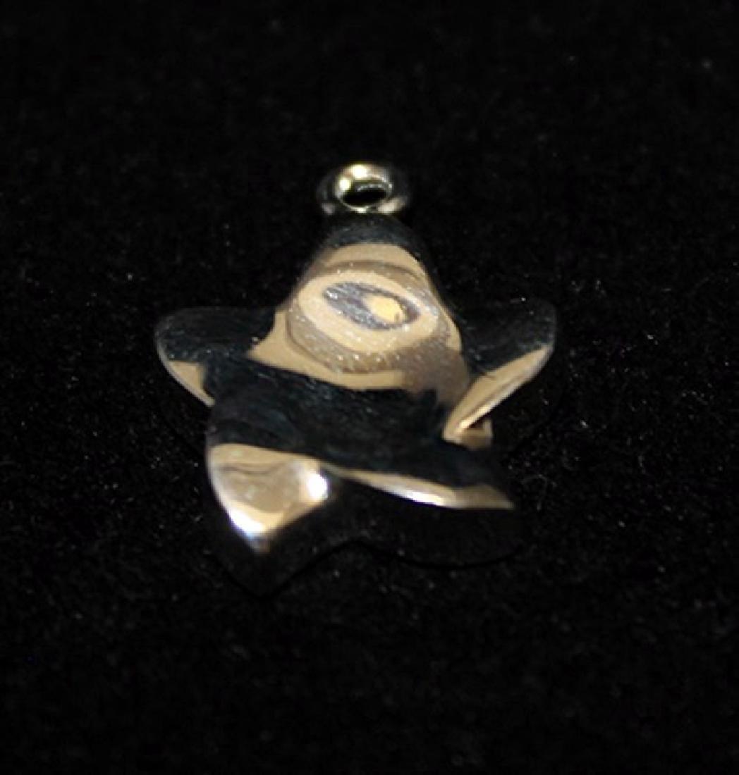 Beautiful T & Co. Star Silver Pendant (60P)