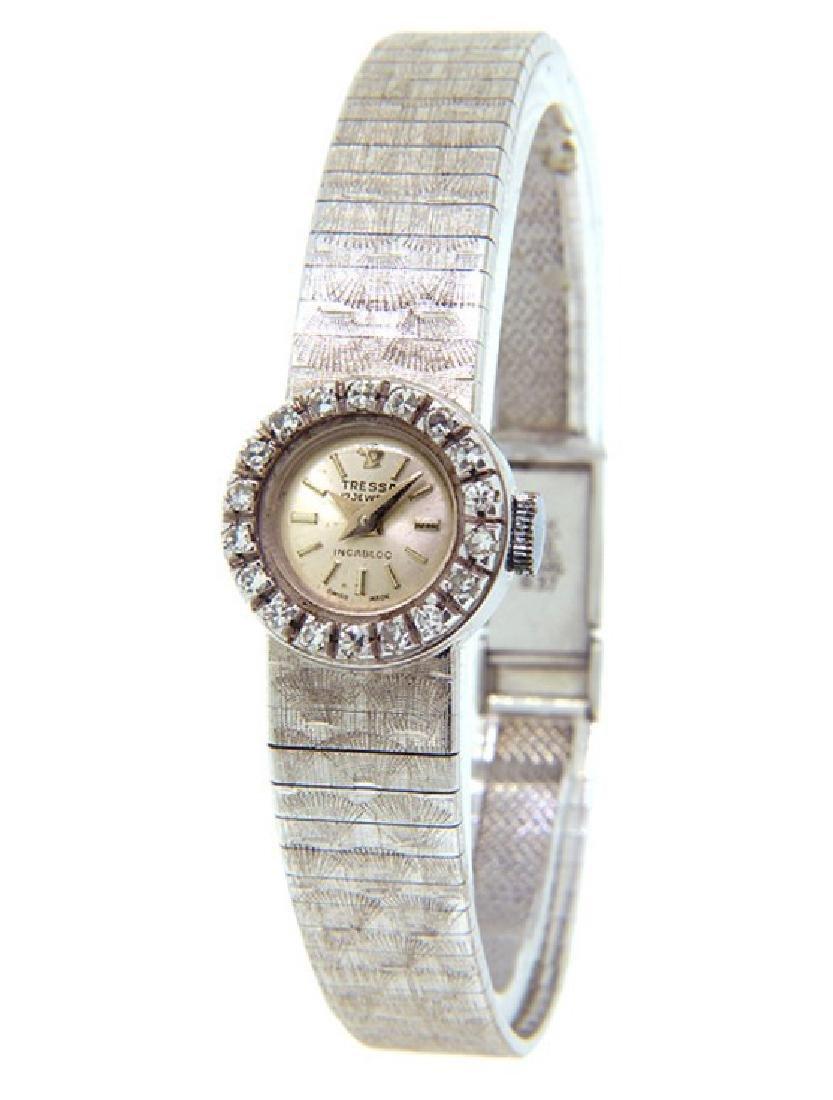 Women's 18K Gold Tressa Incabloc Watch