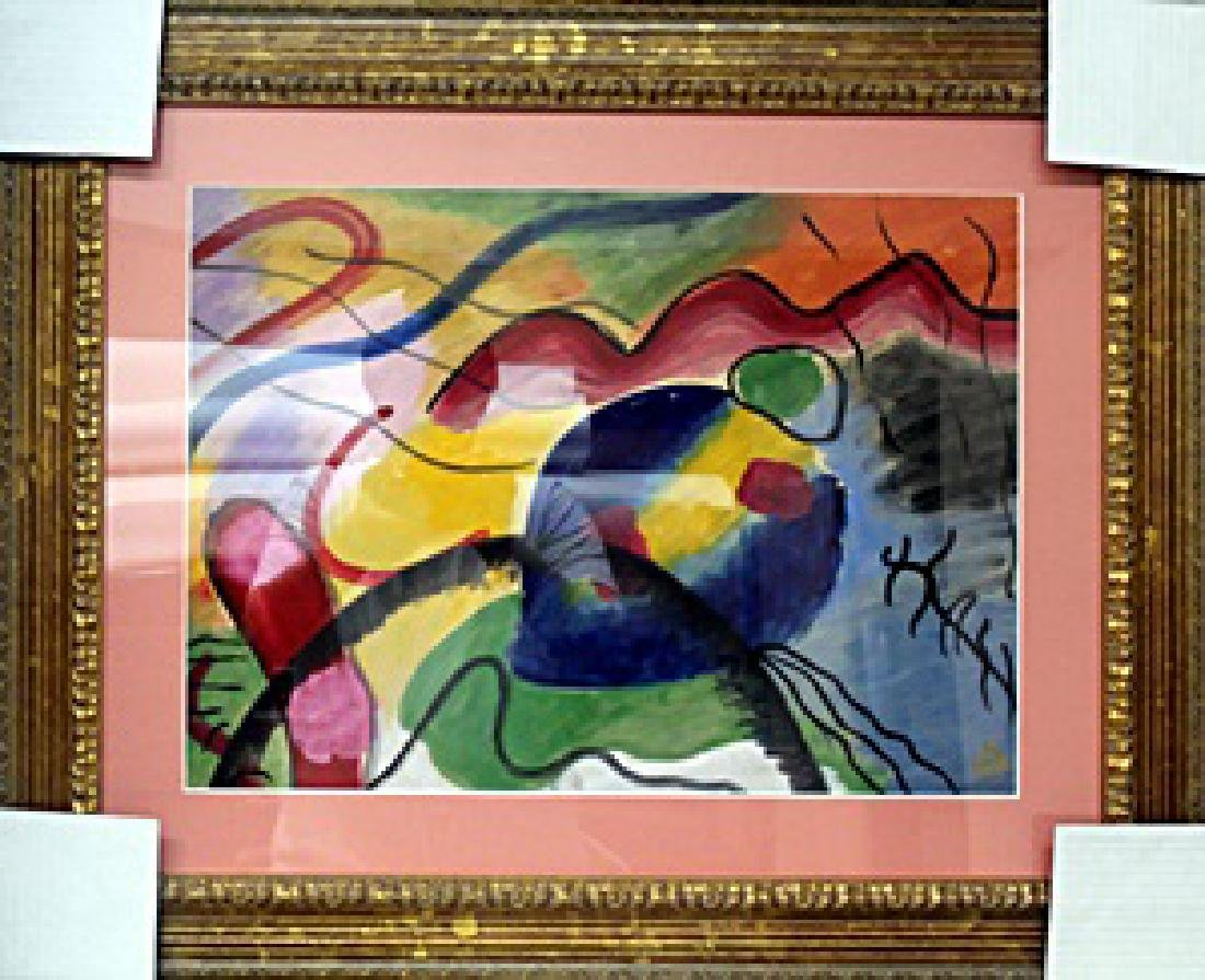 Oil Painting - Wassily Kandinsky