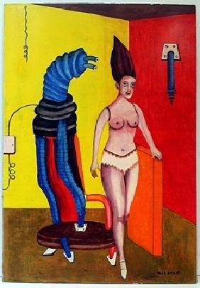 Oil on Wood -  Max Ernst