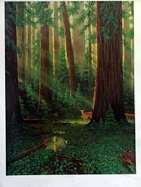 Embossed Lithograph - The Last Stand - Charles Lynn