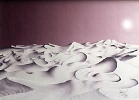 Lithograph Oasis - David Dory