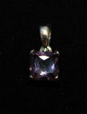 Lavish Gemstone Silver Pendant (27P)