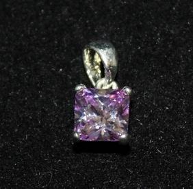 Fine Gemstone Silver Pendant (55P)