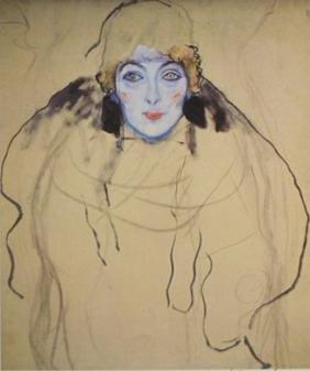 Lithograph  Gustav Klimt (220A)