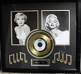 Marilyn Monroe Black & White & Gold Album AR5691