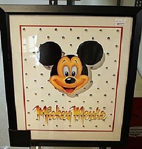 "Framed Lithograph ""Walt Disney's Mickey Mouse"""