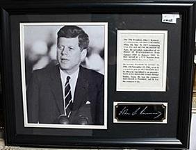 President John F.  Kennedy Photo AR5740