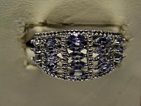 Beautiful Tanzanite Plus Ring
