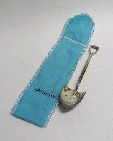 Tiffany & Co. Sterling Shovel Scoop