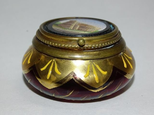 Italian Micro Mosaic Glass Box - 2