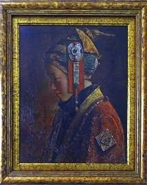 Tang Weimin Painting, Silk Road #7, 2006