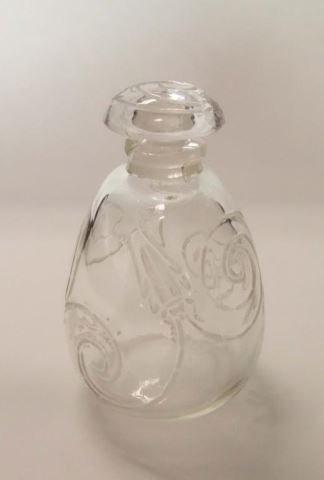 Rare Lalique Crystal Perfumer Capricornes 1912