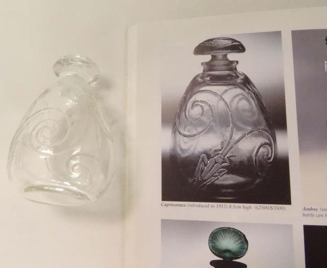 Rare Lalique Crystal Perfumer Capricornes 1912 - 2
