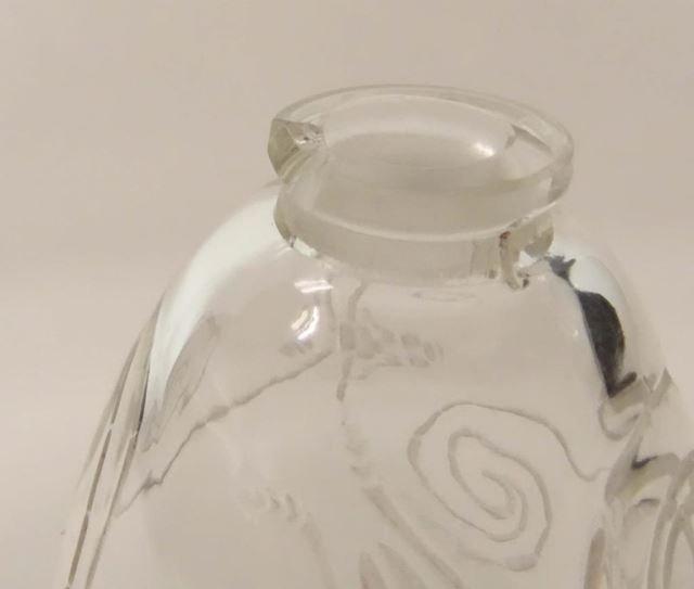 Rare Lalique Crystal Perfumer Capricornes 1912 - 3