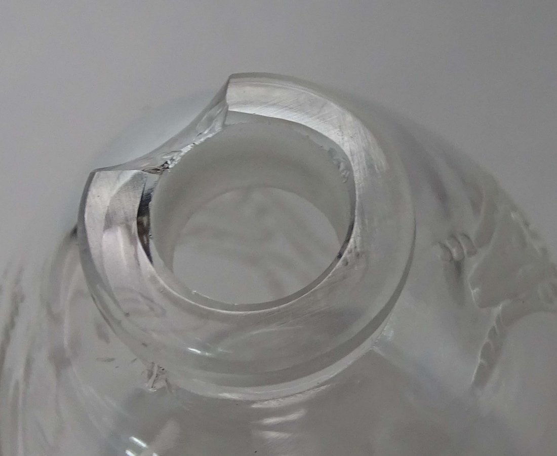 Rare Lalique Crystal Perfumer Capricornes 1912 - 4