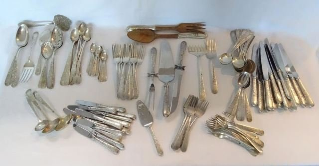 119 Pc. Kirk & Son Sterling Flatware Old Maryland