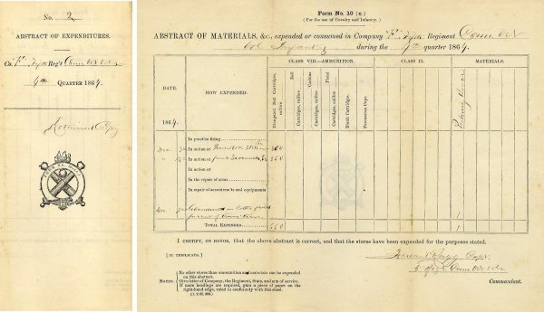 5: Connecticut Volunteer Infantry Inventory Document