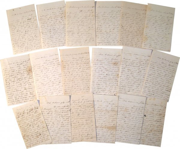 19: Army Signal Corps ALS American Civil War Letters Si