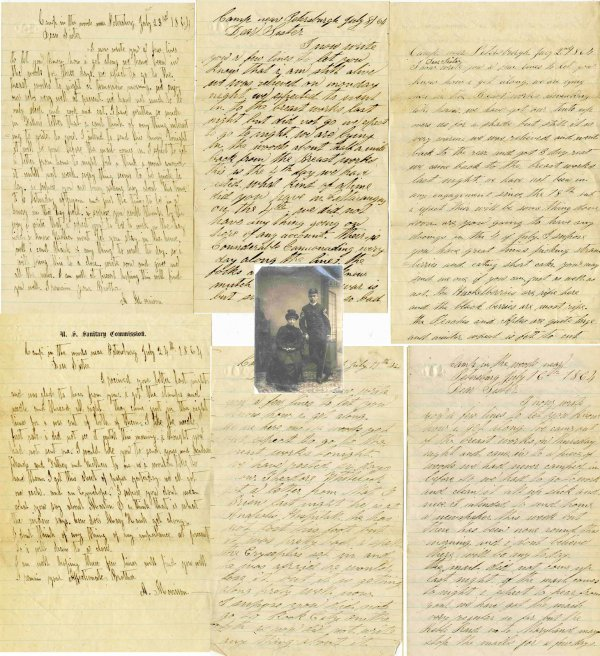 22: Petersburg ALS Siege NY American Civil War Letters