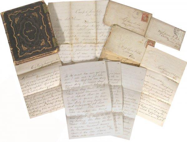 238: Union Soldiers Letters ALS American Civil War Hist