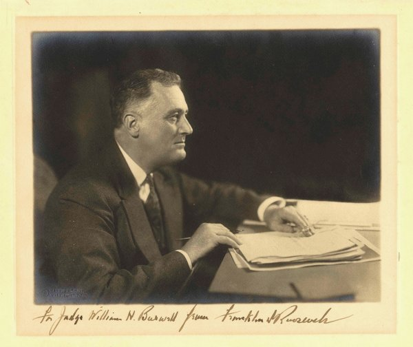 1597: President Franklin Roosevelt FDR Photo Harris Ewi