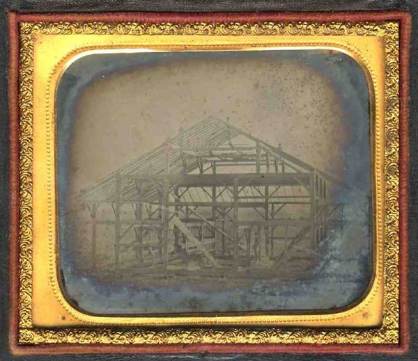 2251: Sixth Plate Ambrotype House Under Construction 18