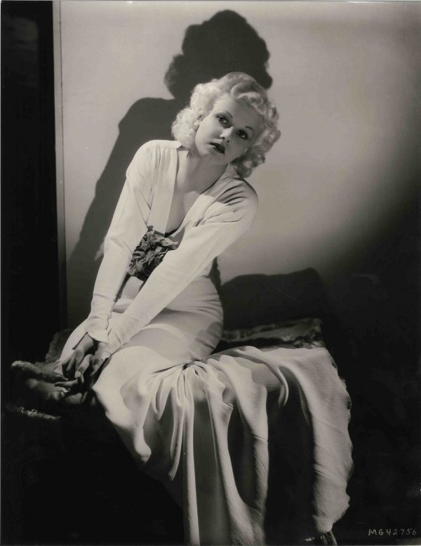 2268: Rare Jean Harlow Photograph George Hurrell Mark V