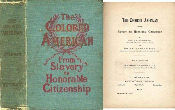 2730: Colored American Slavery Race Civil War History