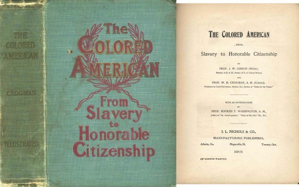 2730: Colored American Slavery Race Civil War History