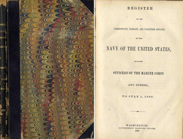 3350: America Army War Officers Navy United Statesarine