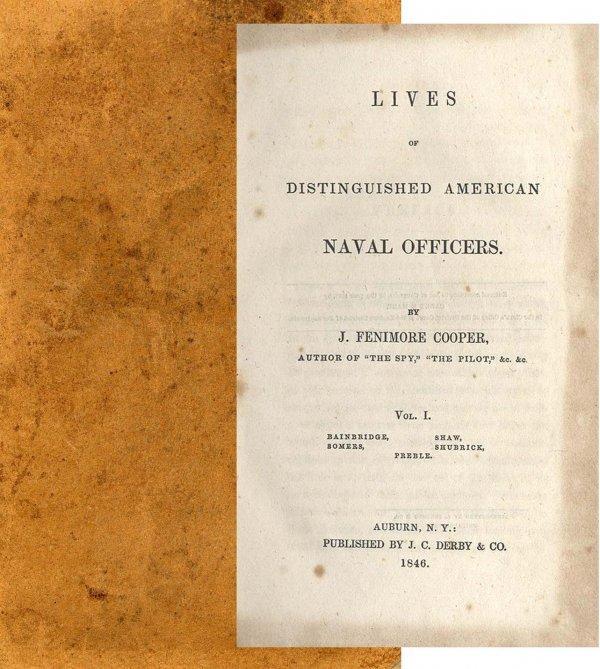 3352: Lives Distinguished American Naval Officers War H