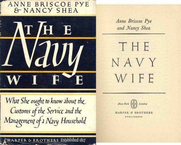3354: Rare Navy Wife Anne Briscoe Pye Nancy Shea WWII W