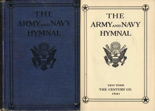 3357: Army Navy Hymnal Rare American Military U.S. War