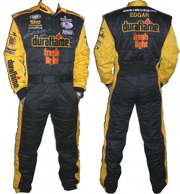 3362: Wallace McMurray Signed RWI Racing Crew Firesuit