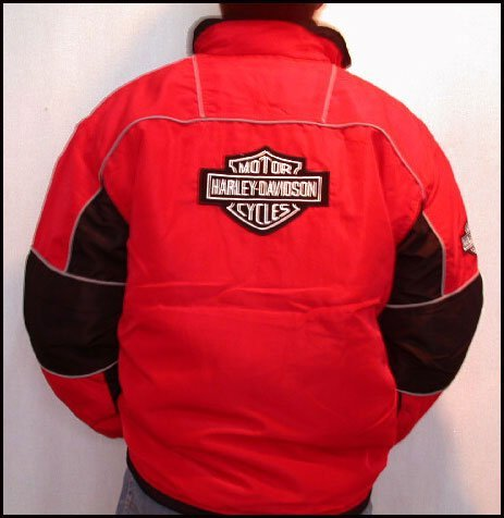 3364: Harley Davidson Motorcycle Racing Jacket
