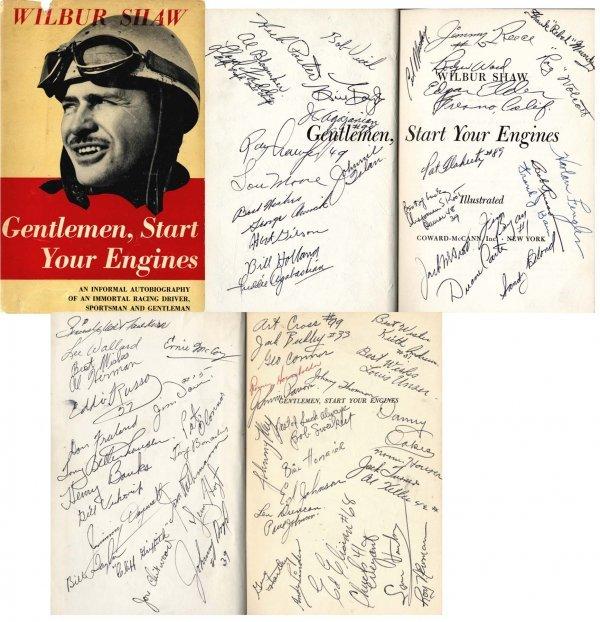 3365: Engines Shaw Autographs Porter Newman Vukovich Ra