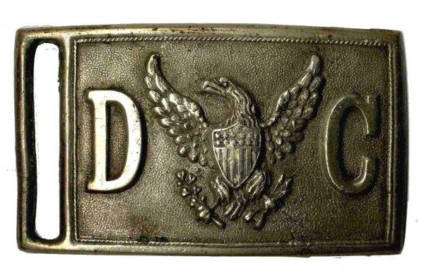 3717: Washington D.C. Police Belt Buckle Cop Crime Rare