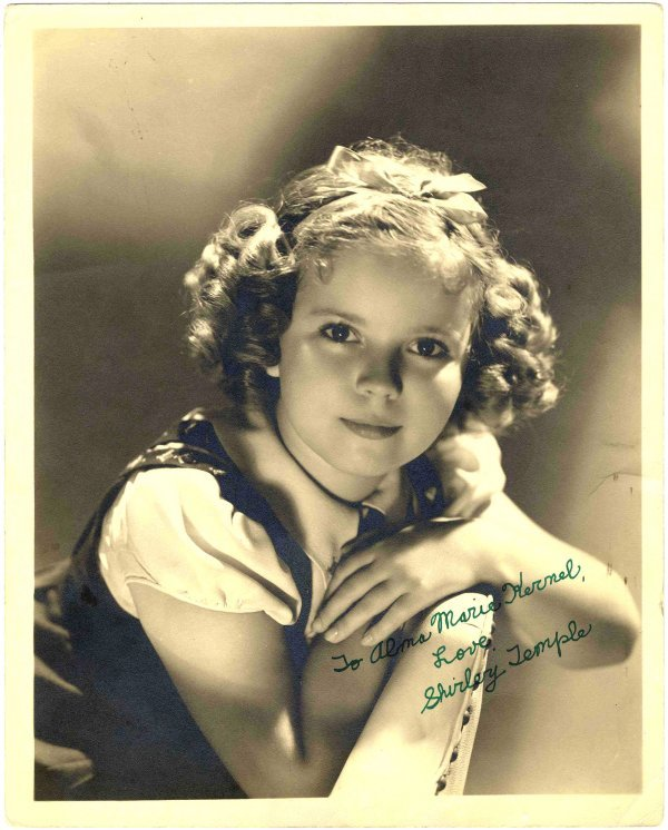 2777: Photo Shirley Temple Celebrity Child Hollywood Ac