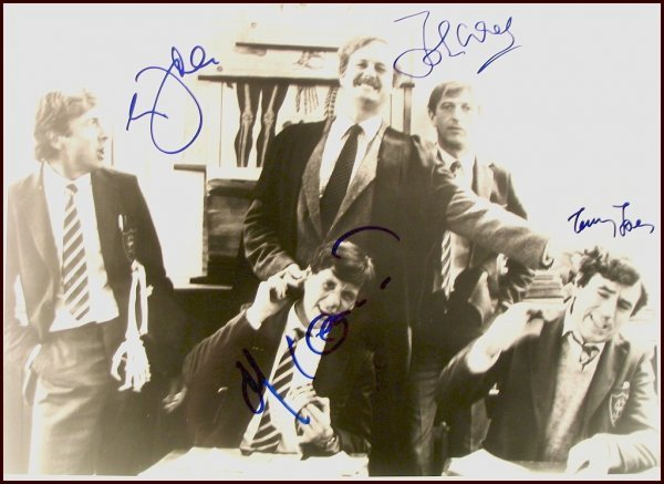 2787: Monty Python Signed Photo Cast Cleese Idle