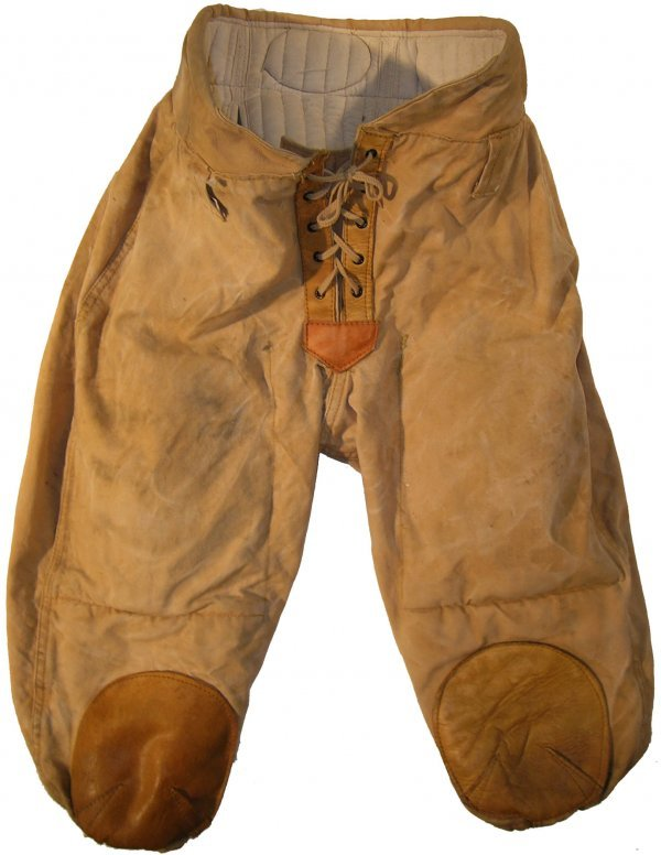 3882: Pair Football Pants Vintage Equipment Sports Clot
