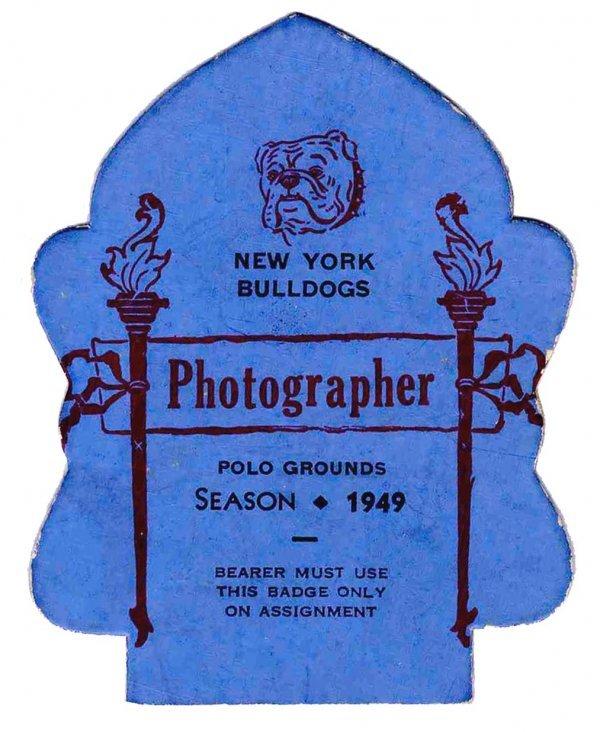 3886: NY Bulldogs Photographer Season Pass Pro Football