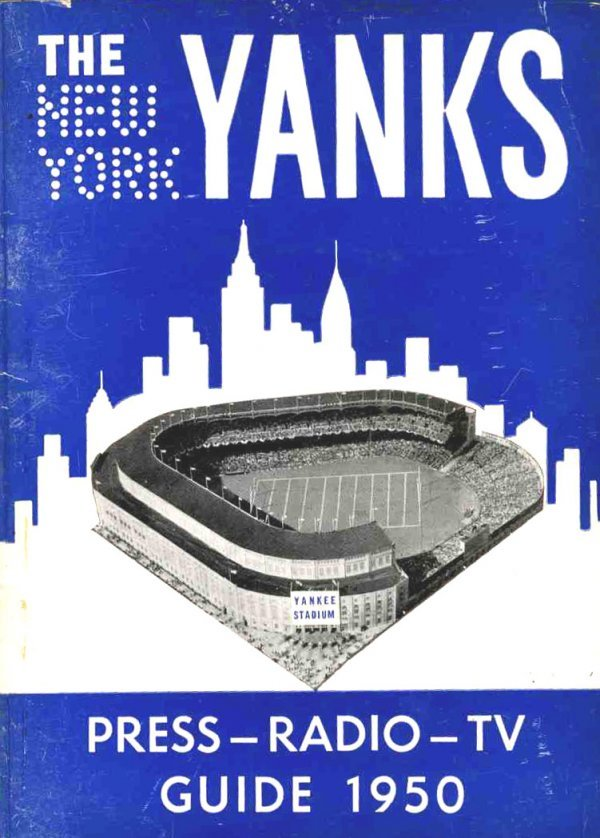 3998: New York Yanks Press-Radio-TV Guide AFL