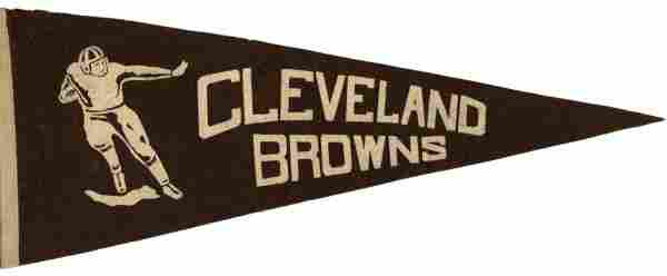 4092: Cleveland Browns Pennant All-American Football